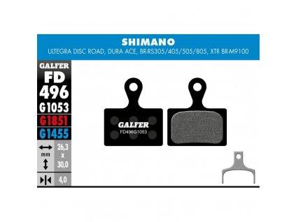 galfer shimano fd496