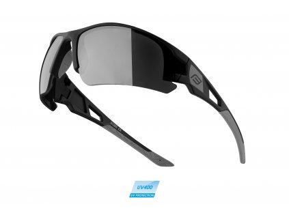 brýle FORCE CALIBRE černé, černá laser skla