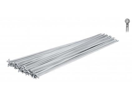 dráty FORCE nerez stříbrné 2 mm x 278 mm