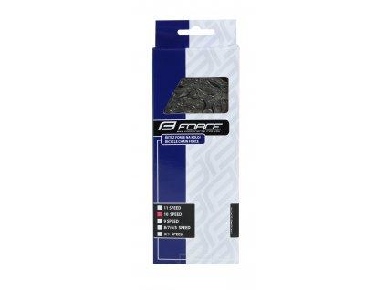 řetěz FORCE P1003 pro 10-kolo stříbrný/šedý