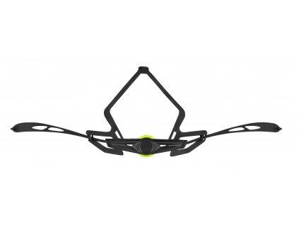 kolečko utahovací pro přilbu F BULL,černo-fluo