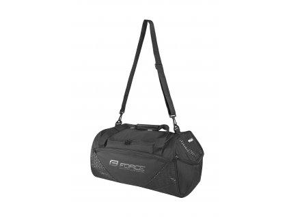 taška sportovní FORCE ACTION 35 l, černá