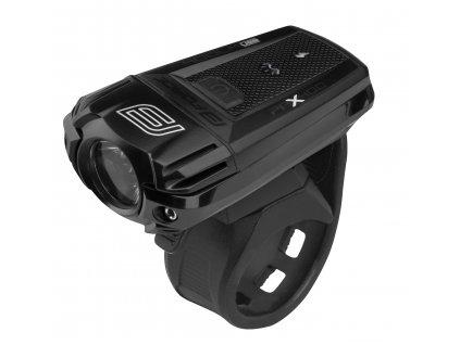 světlo přední FORCE PAX 400LM USB, černé