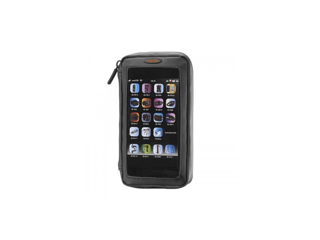 """Pouzdro Ibera PB23 na řidítka s peněženkou Smartphone 5,0 - 5,8""""+Q5"""