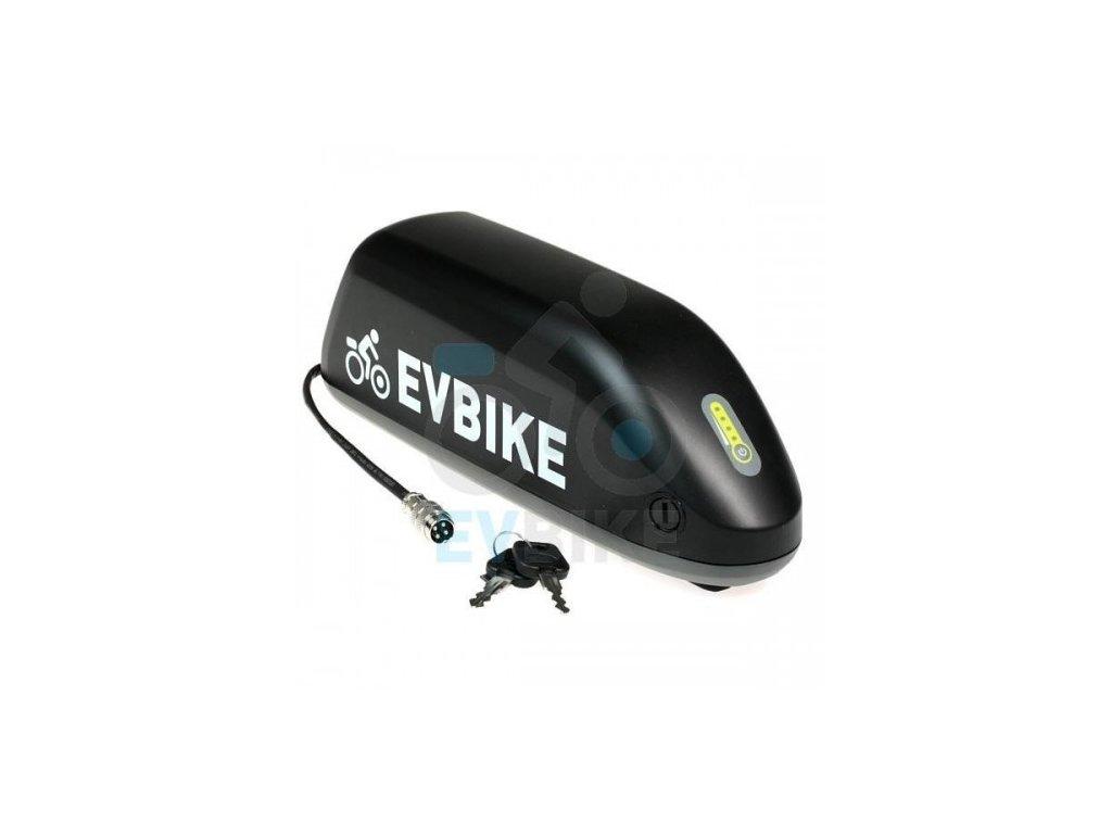 EV Bike baterie Downtube 48V 14 Ah rámová repase