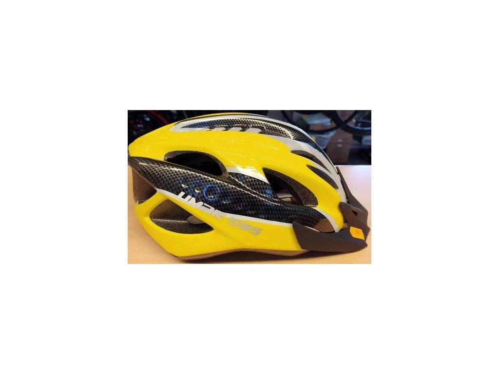 Přilba Limar 595 55 - 61 cm žlutá