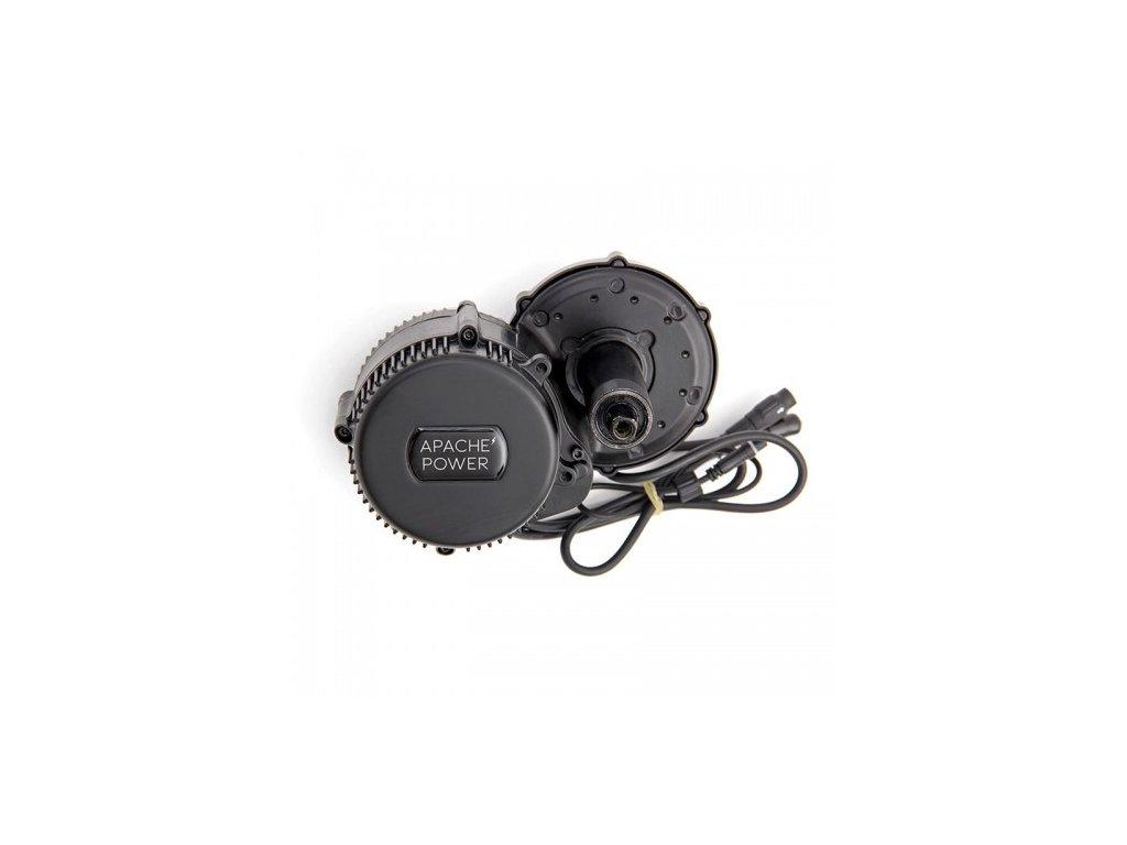 Motor středový Apache Power BBS 250-350 W 36 V + LCD displej
