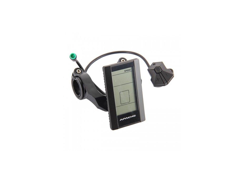 Displej LCD Apache Power s konektorem do ŘJ do r 2014 osobní odběr