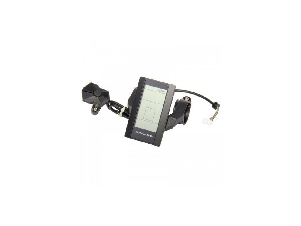 Displej LCD Apache Power s konektorem do slučovacího boxu