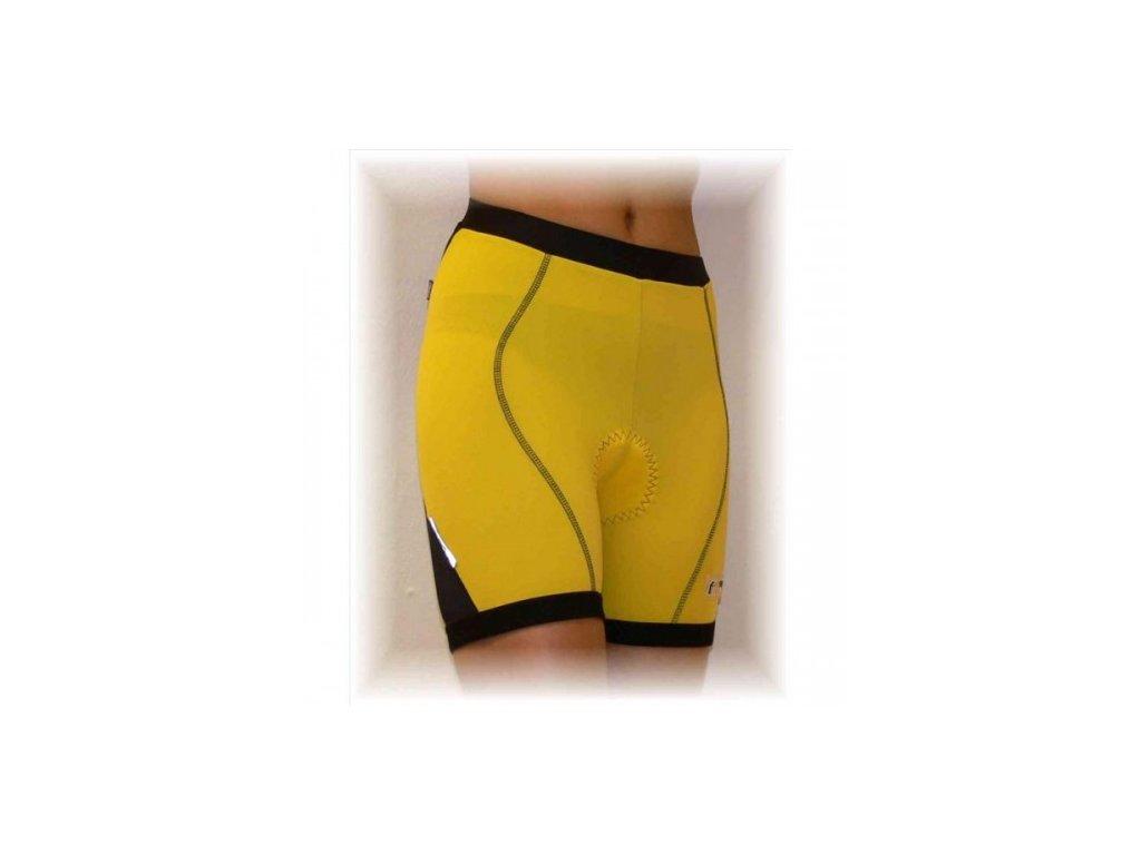 FABIAN cyklo kalhoty do pasu dámské černé L