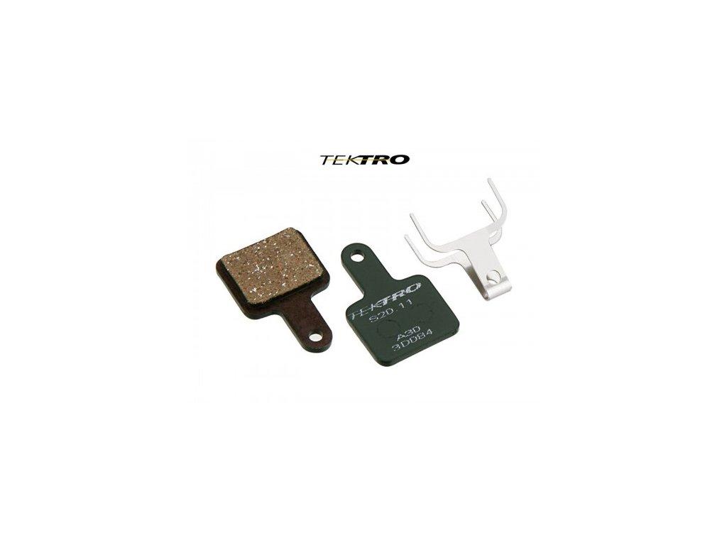 Destičky Tektro Auriga TK-S20.11 brzdové - Volans (2ks)
