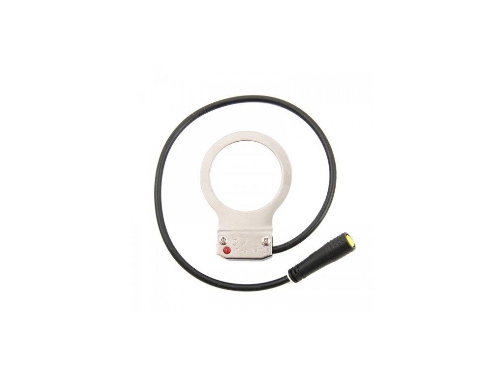 Snímač šlapání AP levý s kabelem 150 mm, konektor do rámové ŘJ 2015