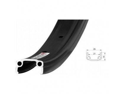 Ráfek Remerx 507x19 RMX N 32 děr černý