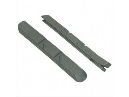 Náhradní gumička Kool Stop V- brake stříbrná