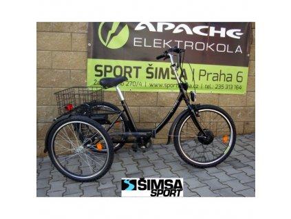 """Apache Etrike 24"""" elektro tříkolka osobní odběr"""