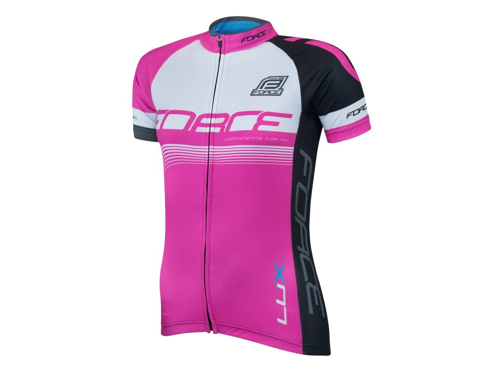 Dámský cyklistický dres Froce Lux krátký rukáv