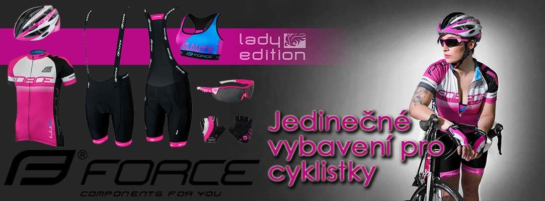 Vybavení pro cyklistky Force