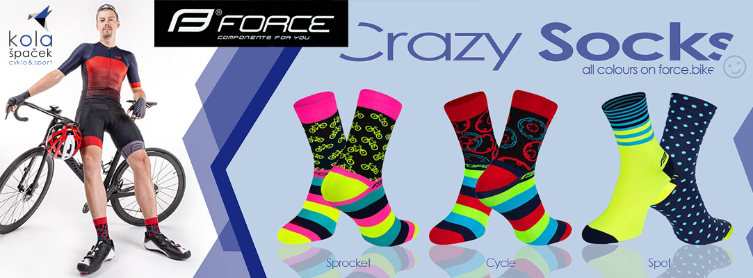 Force Crazy socks