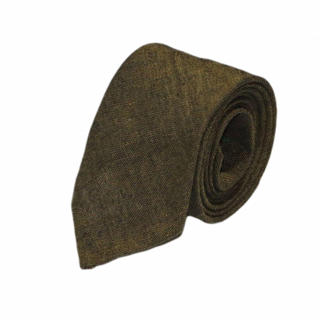 """Pánská lněná kravata """"Clerc"""""""