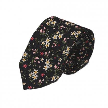 """Pánská bavlněná kravata """"d'Orléans"""""""