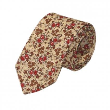 """Pánská bavlněná kravata """"Nosek"""""""