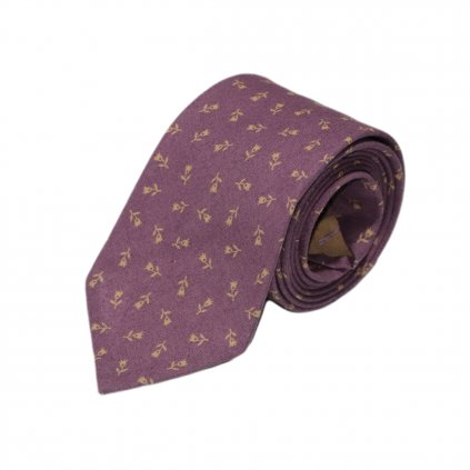 """Pánská bavlněná kravata """"Brown"""""""