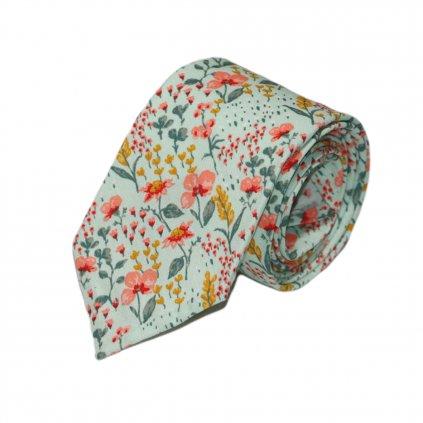 """Pánská bavlněná kravata """"Adams"""""""