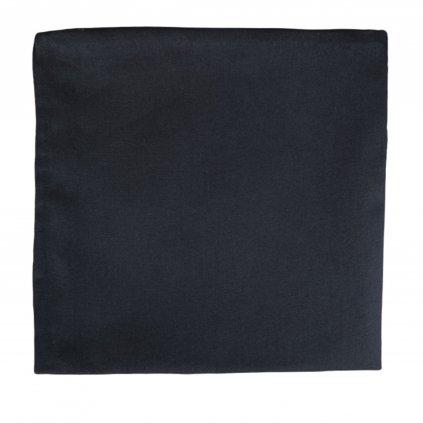 Bavlněný kapesníček - černý