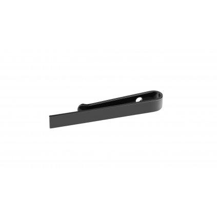 Černá kravatová spona