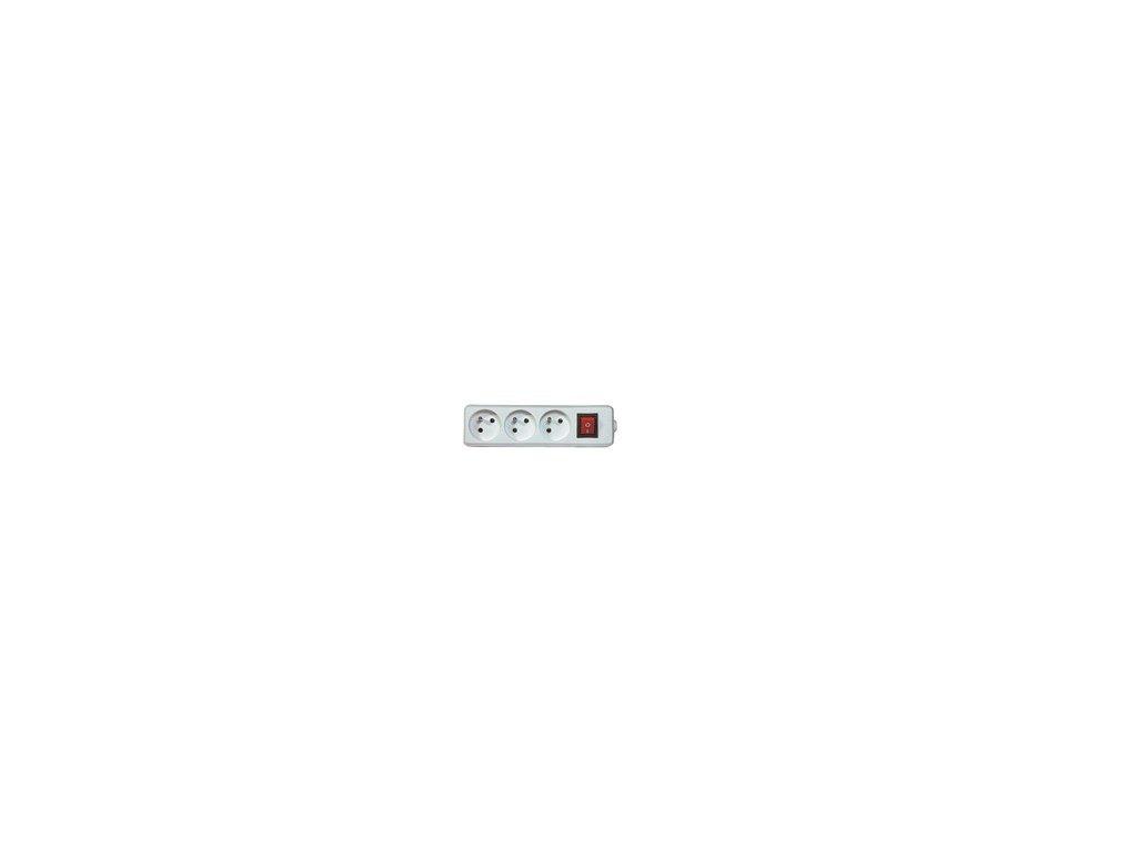 Trojzásuvka pro pohyb. přívod 16A/250V