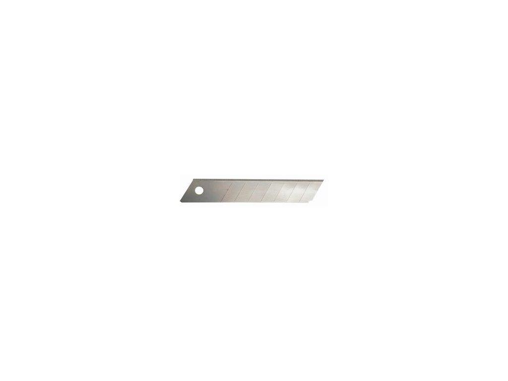 Čepelky náhradní B018  18mm/0,5mm 10ks