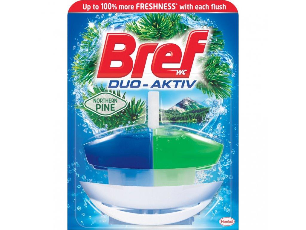 WC Bref duo aktiv borovice - tekutý wc blok 50ml