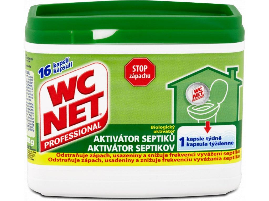 WC NET Aktivátor septiků 16ks   3501