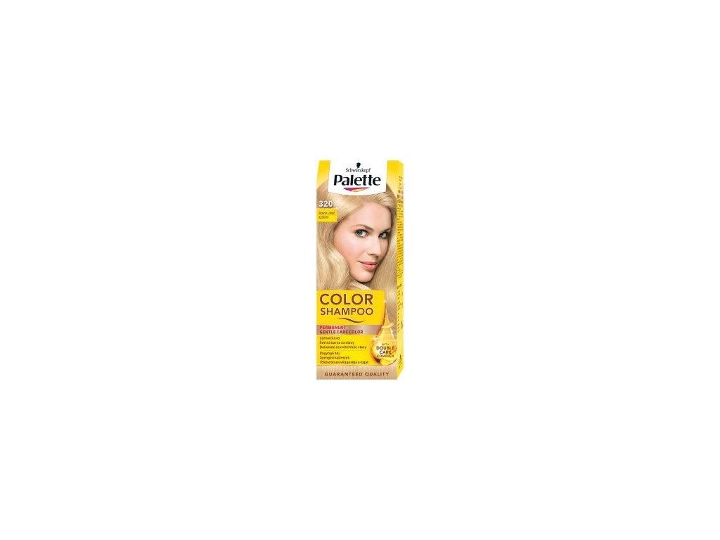 Palette Color Shampoo tónovací barva na vlasy 320 - zesvětlovač