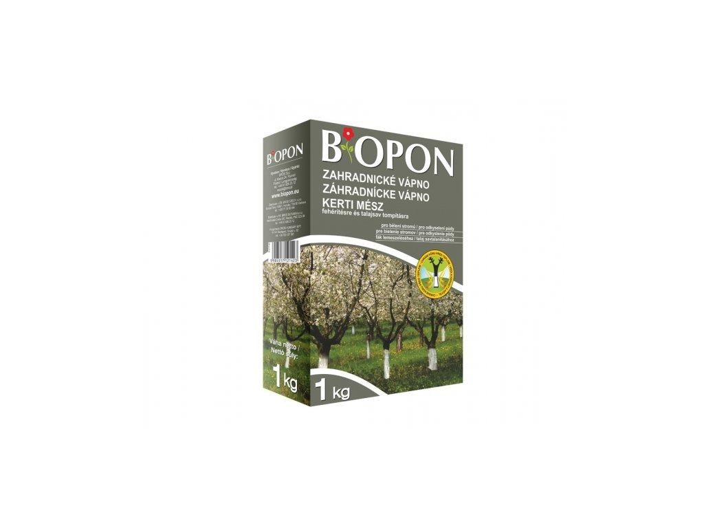 Vápno zahradnické 1kg Bopon