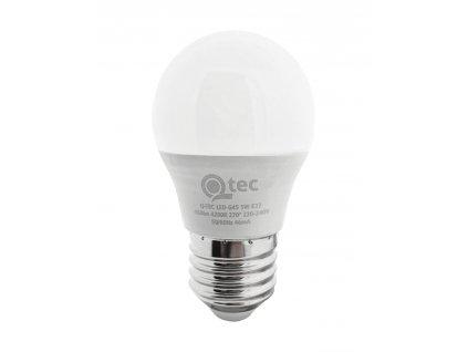 Žárovka E27 5W LED G45 3000