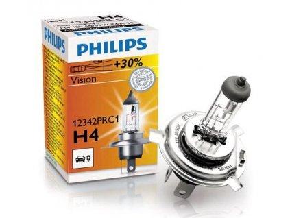 Autožárovka H4 STANDARD 12V 60/55W Light color