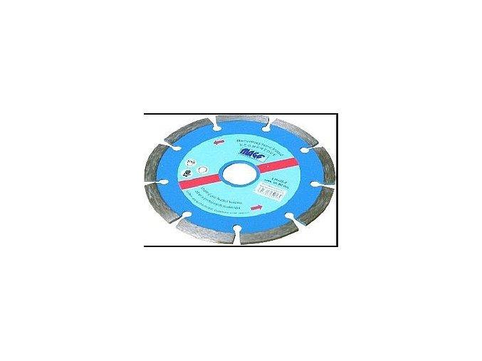 KOTOUČ diamantový segment. 125x22,2 DKS