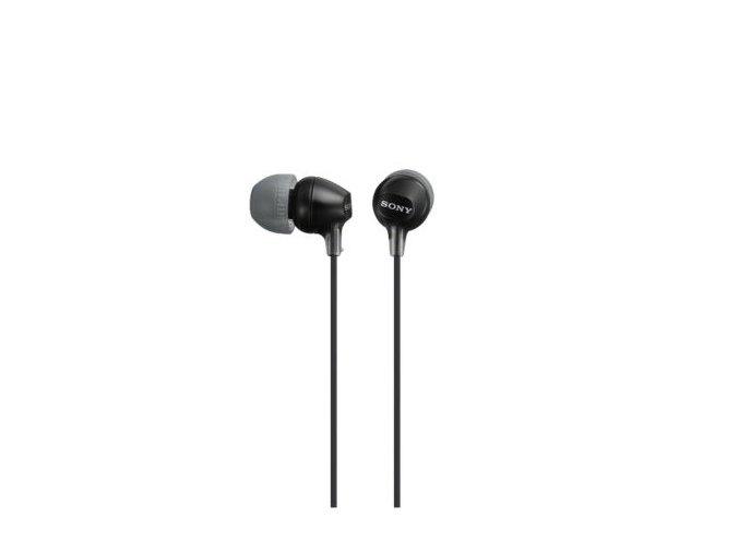Sluchátka do uší MDR-EX15LP černá