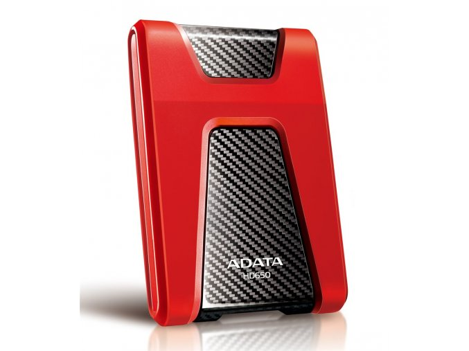 "ADATA HD650 1TB External 2.5"" HDD Red"