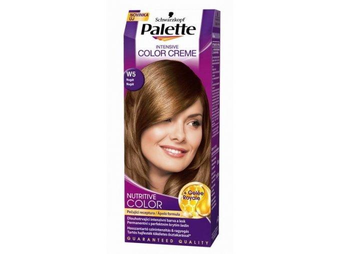 Palette Intensive Color Creme barva na vlasy nugát W5