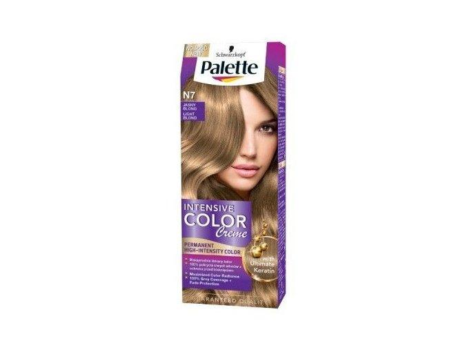 eng pl Palette Intensive Color Creme Coloring CREAM N7 LIGHT BROWN 50ml 3838824159652 21444 1