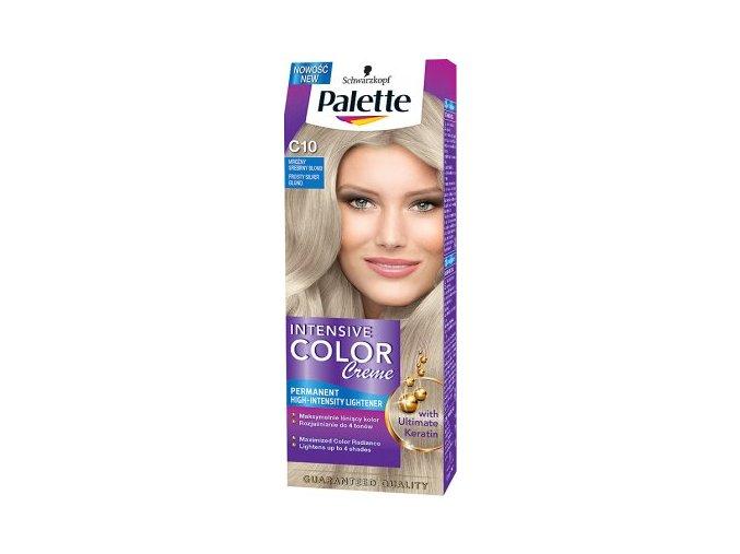Palette Intensive Color Creme barva na vlasy ledový C10