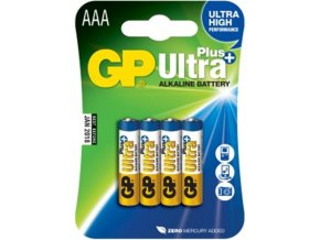 Baterie GP Ultra Plus 2x AAA