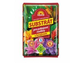 substrat pokojove s hnojivem 10l