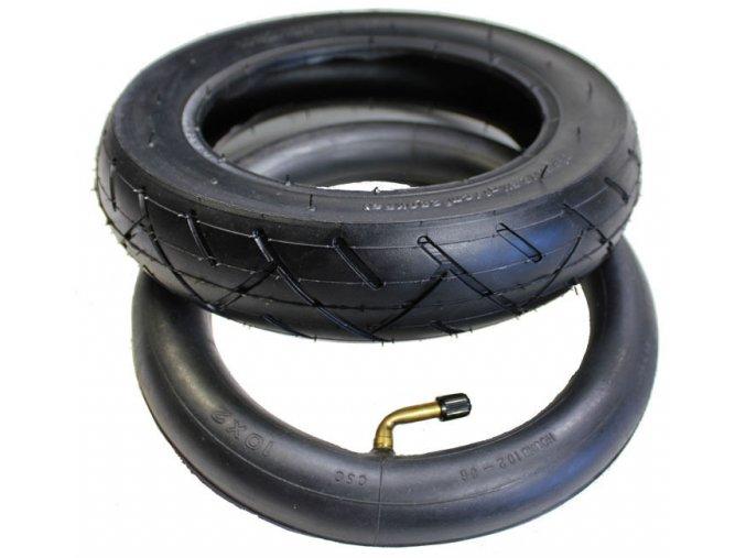 Pneumatika + duše (komplet) rozměr 10x2.125 pro hoverboard (Kolonožka, gyroboard, smart balance wheel) Q10 / hoverboard je podobný známému vozítku mini segway