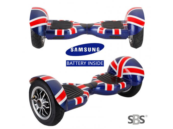 Kolonožka Hoverboard offroad Q10 Anglie (gyroboard, smart balance wheel) doprava zdarma / podobná vozítku mini segway