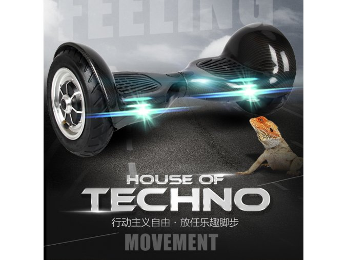 Hoverboard offroad Q10 černá (gyroboard, smart balance wheel) doprava zdarma / podobná vozítku mini segway