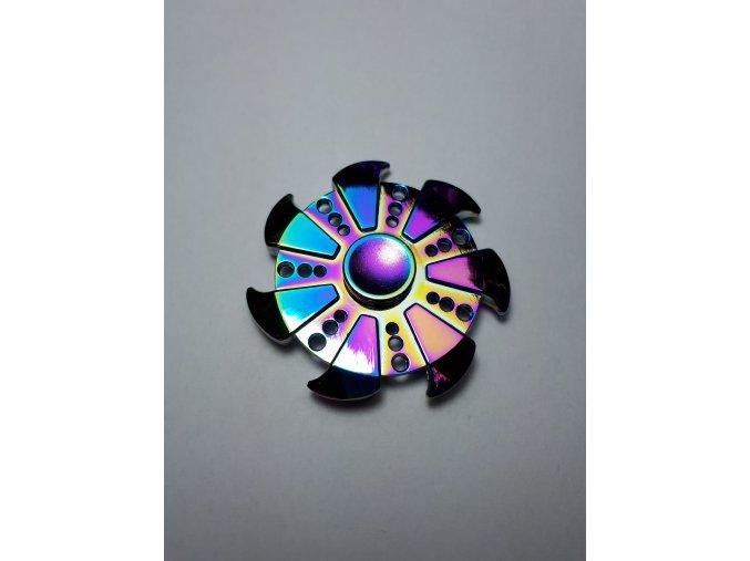 Fidget Spinner Rainbow Circular zlatý  (SUPER KVALITA)