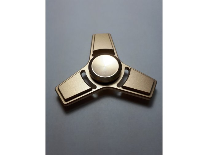 Fidget Spinner Ufo Star zlatý  (SUPER KVALITA)